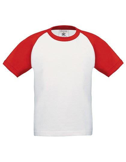 B&C - T-Shirt Base-Ball / Kids