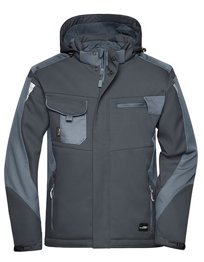 James+Nicholson - Craftsmen Softshell Jacket -STRONG-