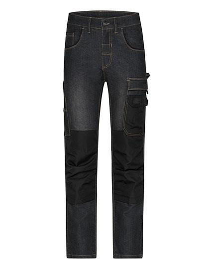 James+Nicholson - Workwear Stretch-Jeans
