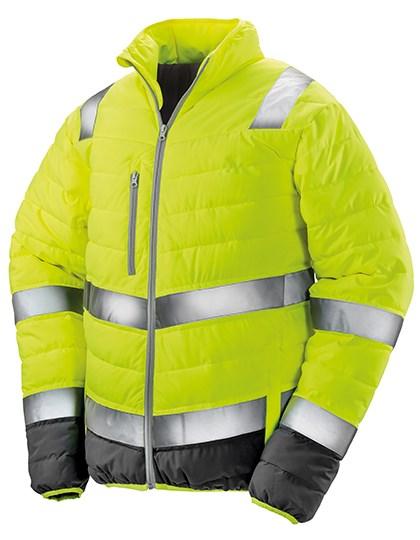 Result Safe-Guard - Men`s Soft Padded Safety Jacket