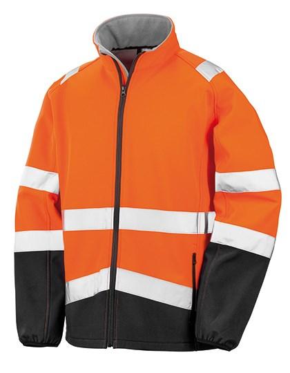 Result Safe-Guard - Printable Safety Softshell Jacket