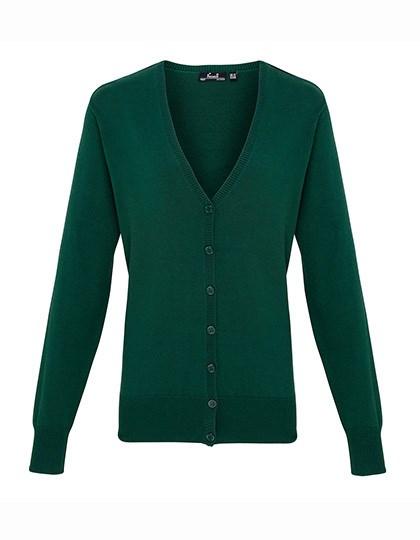 Premier Workwear - Ladies` Button Through Knitted Cardigan