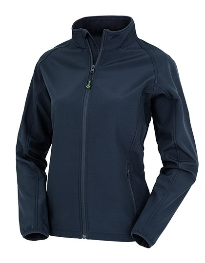 Result Genuine Recycled - Womens Recycled 2-Layer Printable Softshell Jacket
