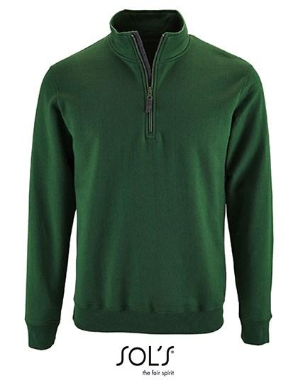 SOL´S - Men`s Zip High Collar Sweatshirt Stan
