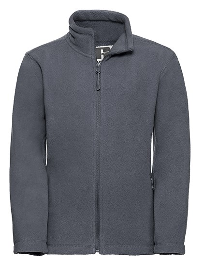 Russell - Children´s Full Zip Outdoor Fleece