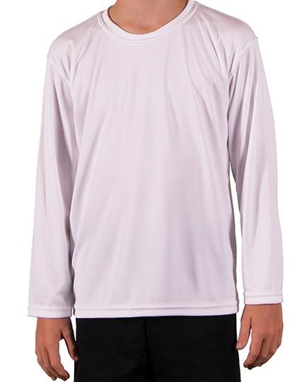 Vapor Apparel - Youth Solar Performance Long Sleeve T-Shirt