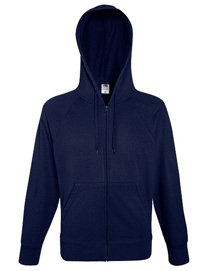 Fruit of the Loom - Lightweight Hooded Sweat Jacket