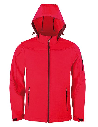 HRM - Men´s Hooded Soft-Shell Jacket