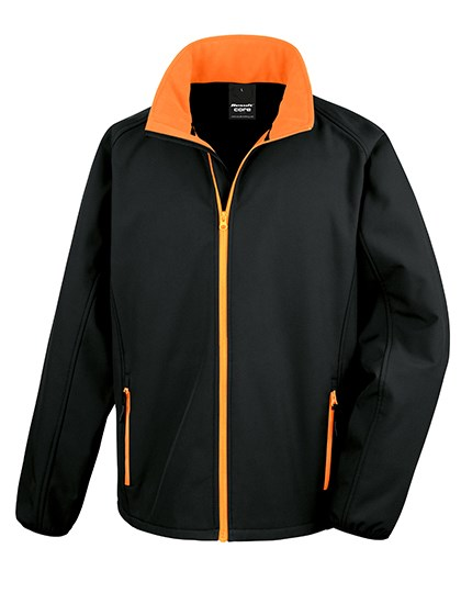 Result Core - Printable Soft Shell Jacket