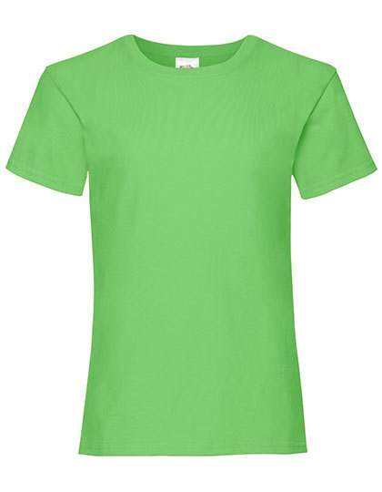 Fruit of the Loom - Girls Valueweight T