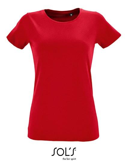 SOL´S - Women`s Round Neck Fitted T-Shirt Regent
