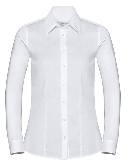Russell Collection - Ladies` Long Sleeve Tailored Coolmax® Shirt