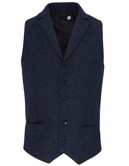 Premier Workwear - Mens Herringbone Waistcoat