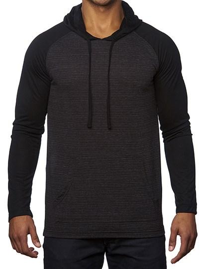 Burnside - Striped Sleeve Raglan Jersey Sweat