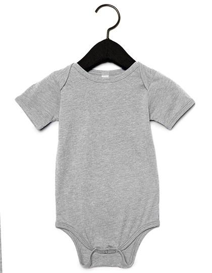 Bella - Baby Triblend Short Sleeve Onesie