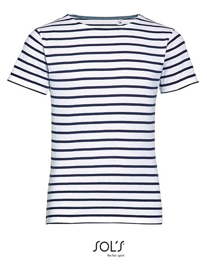 SOL´S - Kids` Round Neck Striped T-Shirt Miles