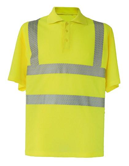 Korntex - Hi-Viz Broken Reflective Polo Shirt EN ISO 20471