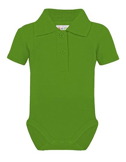 Link Kids Wear - Bio Bodysuit with Polo shirt neck