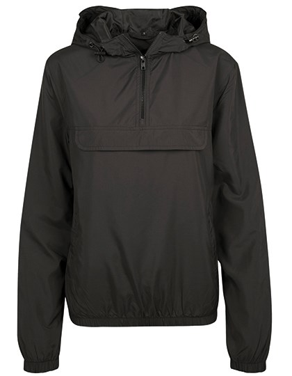 Build Your Brand - Ladies Basic Pull Over Jacket