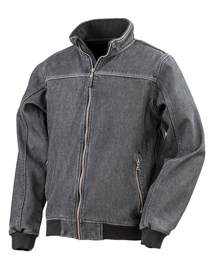 Result - Denim Softshell Jacket