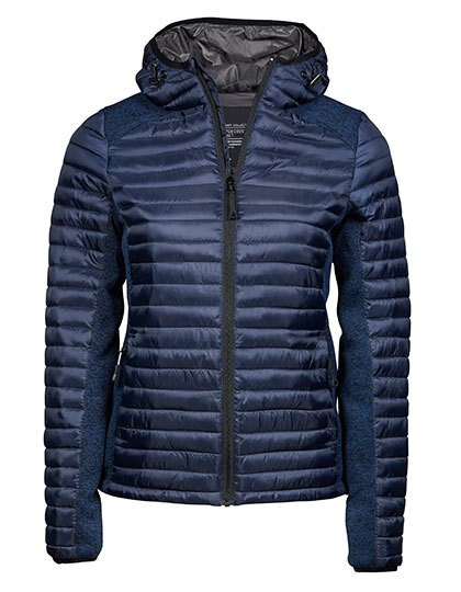 Tee Jays - Womens Hooded Outdoor Crossover Jacket