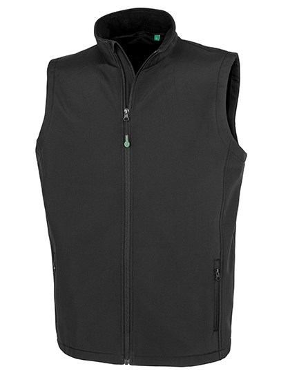 Result Genuine Recycled - Mens Recycled 2-Layer Printable Softshell Bodywarmer