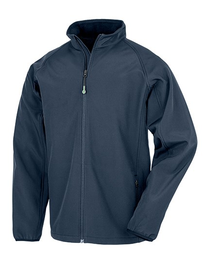 Result Genuine Recycled - Mens Recycled 2-Layer Printable Softshell Jacket