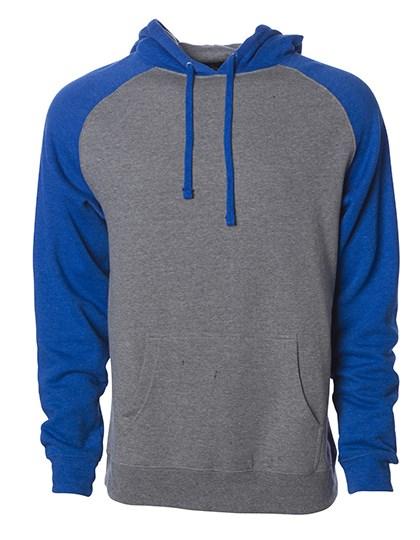 Independent - Men`s Lightweight Raglan Hooded Pullover