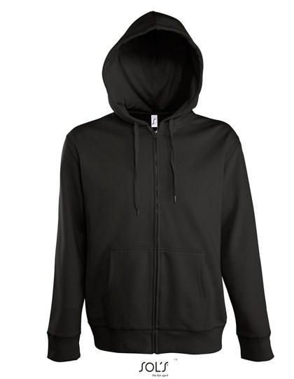 SOL´S - Men Hooded Zipped Jacket Seven