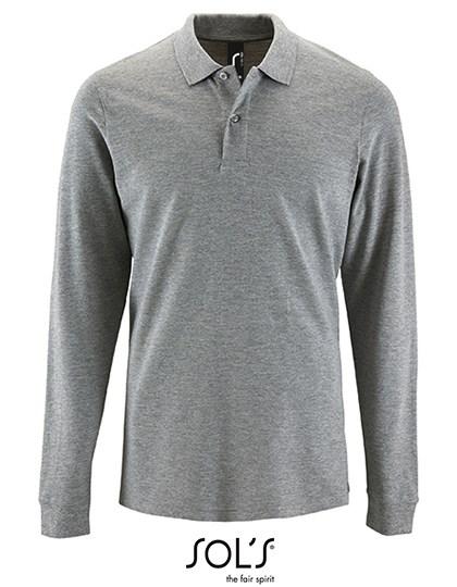 SOL´S - Men`s Long-Sleeve Piqué Polo Shirt Perfect
