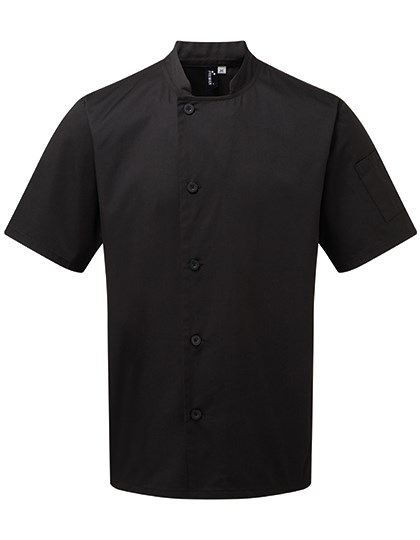 Premier Workwear - Essential Short Sleeve Chefs Jacket