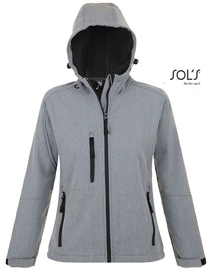 SOL´S - Women`s Hooded Softshell Jacket Replay