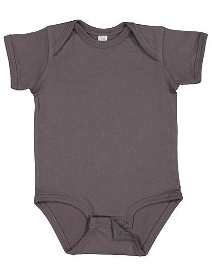 Rabbit Skins - Infant Fine Jersey Short Sleeve Bodysuit