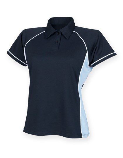Finden+Hales - Ladies` Piped Performance Polo