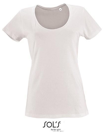 SOL´S - Women`s Low-Cut Round Neck T-Shirt Metropolitan