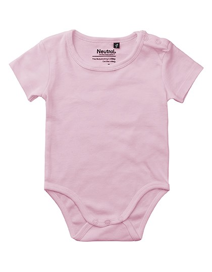 Neutral - Babies Short Sleeve Bodystocking
