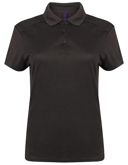 Henbury - Ladies´ Slim Fit Stretch Polo Shirt + Wicking Finish