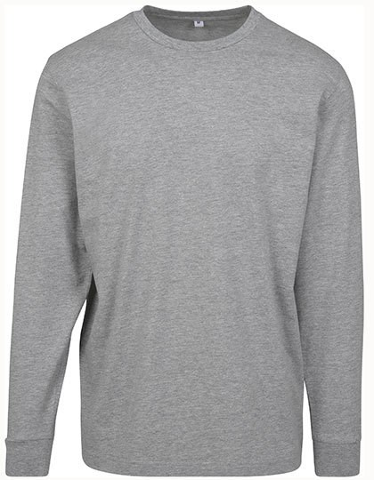 Build Your Brand - Longsleeve Tee with cuffrib
