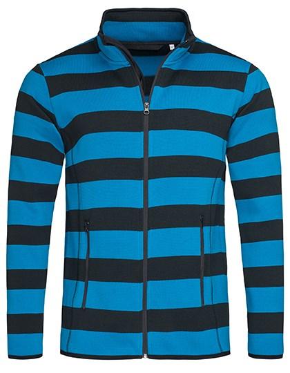 Stedman® - Striped Fleece Jacket