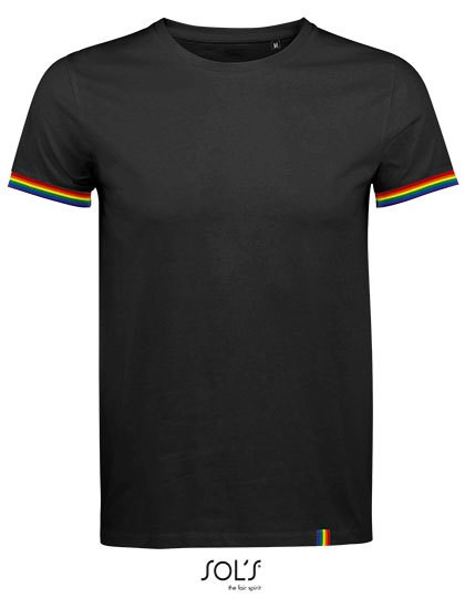 SOL´S - Men´s Short Sleeve T-Shirt Rainbow
