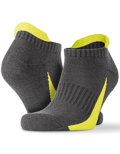 SPIRO - Sneaker Sports Socks (3 Pair Pack)