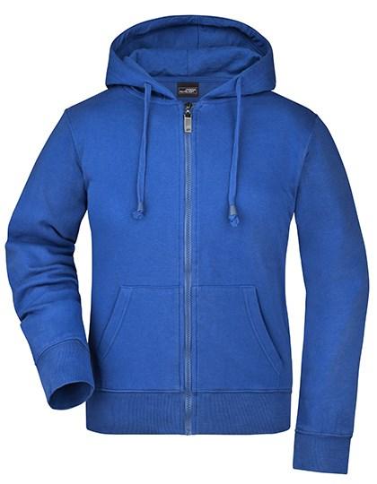 James+Nicholson - Ladies` Hooded Jacket