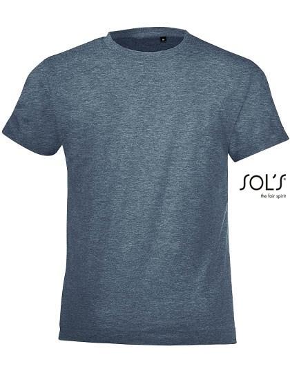SOL´S - Kids` Round Collar T-Shirt Regent Fit