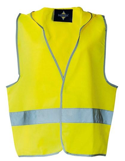 Korntex - Kids` Hooded Safety Vest EN 1150