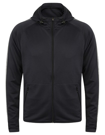 Tombo - Men`s Hoodie with Reflective Tape