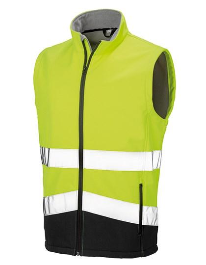 Result Safe-Guard - Printable Safety Softshell Gilet