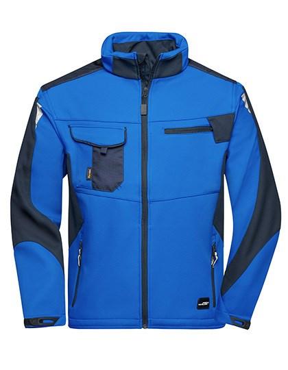 James+Nicholson - Workwear Softshell Jacket -STRONG-