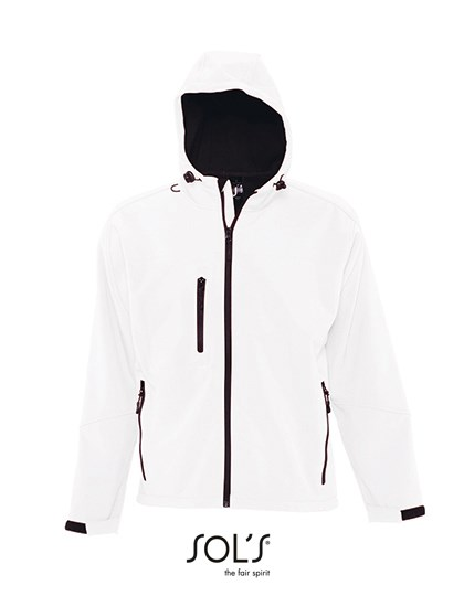 SOL´S - Hooded Softshell Jacket Replay