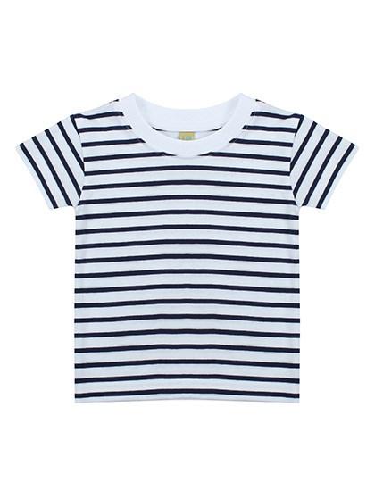 Larkwood - Short Sleeved Stripe T Shirt