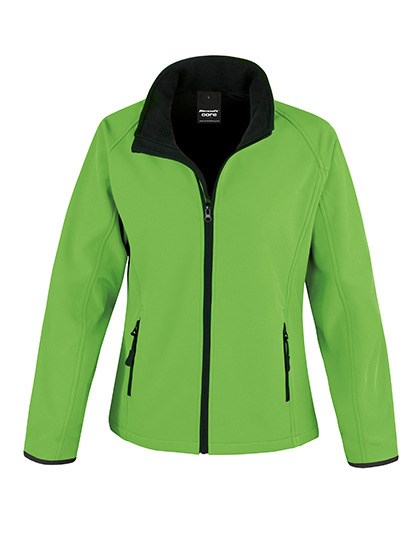 Result Core - Ladies` Printable Soft Shell Jacket